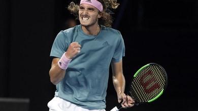 Tennis, Australian Open: Tsitsipas-show, battuto Federer