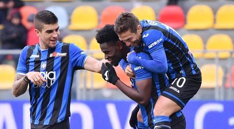 Serie A, Frosinone-Atalanta 0-5: apre Mancini, poi il poker di Zapata