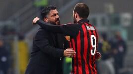 Gattuso:«Higuain? Non era mentalmente pronto»