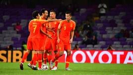 Coppa d'Asia: la Cina di Lippi ai quarti di finale, sconfitta la Thailandia