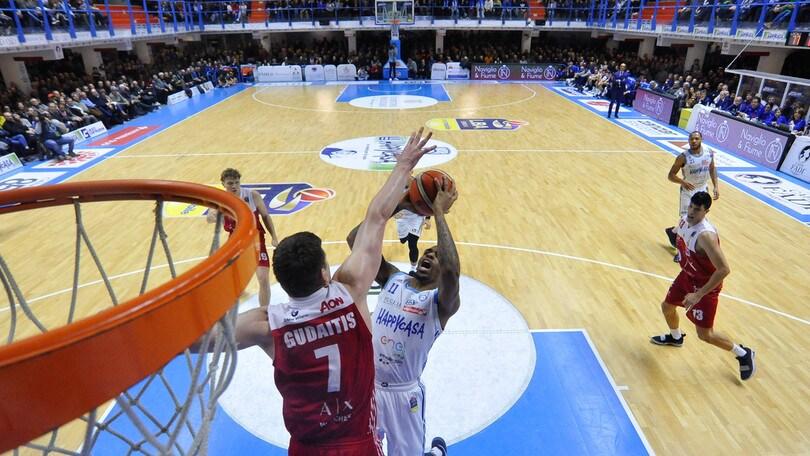 Basket Serie A, Milano crolla a Brindisi. Venezia riaggancia Avellino