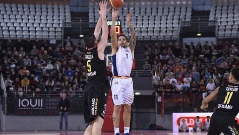Basket Serie A2, la Virtus Roma è capolista a Ovest: decisiva la vittoria su Bergamo