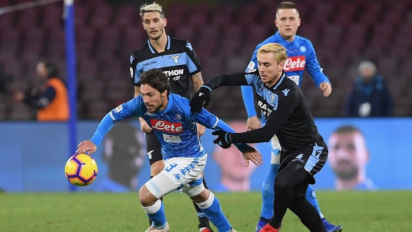 Serie A Napoli-Lazio 2-1, il tabellino