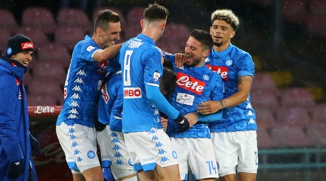 Napoli-Lazio 2-1: decidono Callejon e Milik