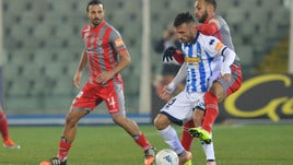 Serie B, il Pescara fallisce l'aggancio al secondo posto: con la Cremonese è solo 0-0