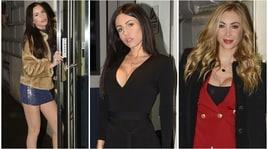 Laura Cremaschi, Marika Baldini e Antonella Mosetti a cena insieme