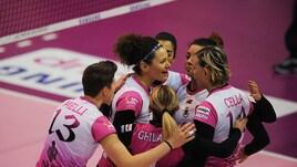 Volley: A2 Femminile, vincono Caserta e Soverato, Perugia batte Trento