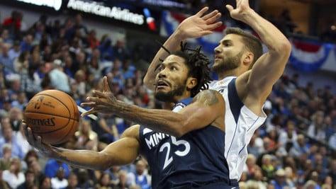 NBA, Rose decide sulla sirena: Suns ko. Belinelli non basta agli Spurs