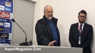 De Laurentiis: Vittoria dedicata a Sandulli