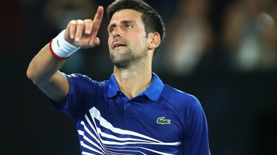 Tennis, Australian Open: vince Djokovic, Carreno si infuria