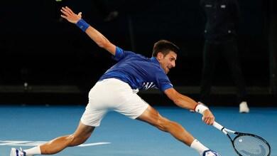 Tennis, Australian Open: Djokovic-Nishikori, Nole avanti a 1,10