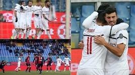 Genoa-Milan 0-2, decidono Borini e Suso