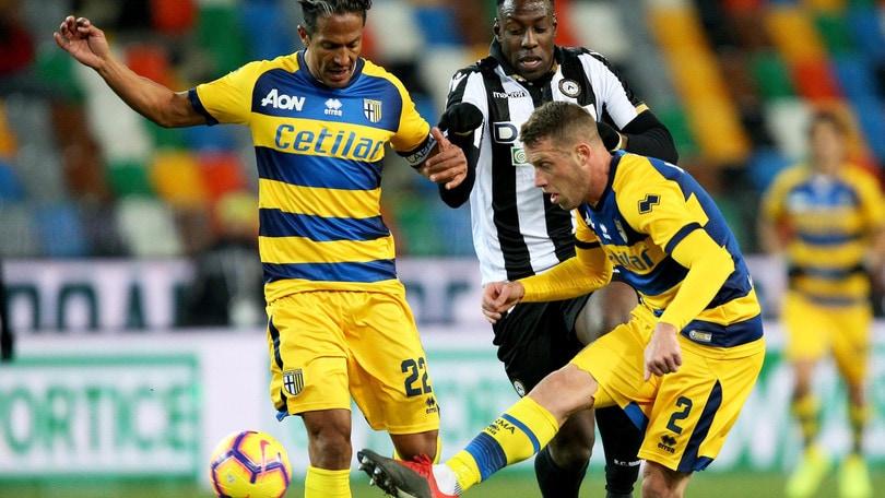 Serie A Parma, Bruno Alves ha lavorato a parte