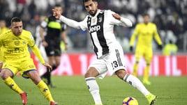 Serie A Juventus-Chievo 3-0, il tabellino