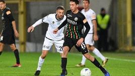 Serie B Spezia-Venezia 1-1. Da Cruz replica a Domizzi