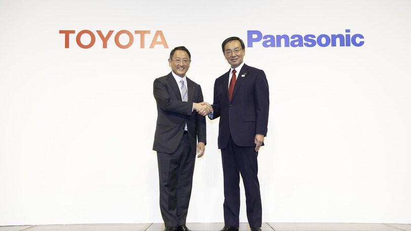 Toyota e Panasonic, batterie in partnership