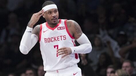 NBA, Carmelo Anthony saluta gli Houston Rockets. Andrà a Chicago