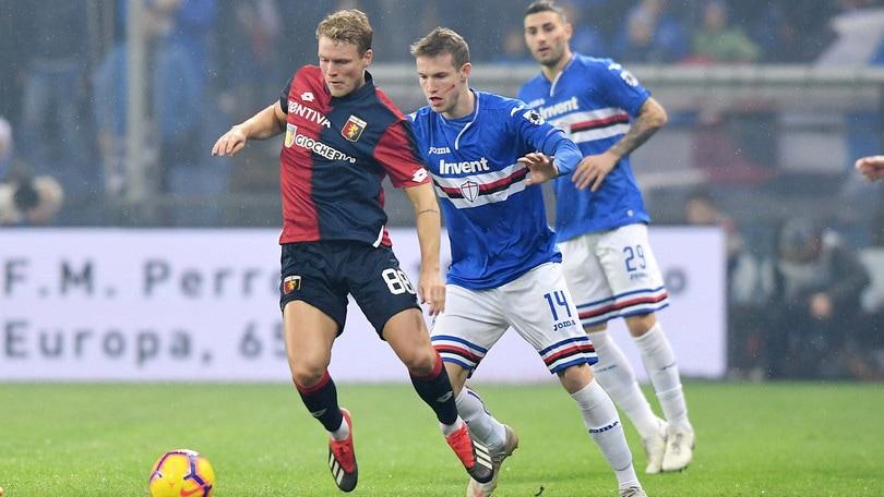Serie A Genoa, Hiljemark verrà operato: stagione finita