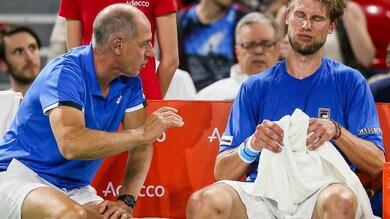 Coppa Davis, India-Italia: i convocati azzurri. Out Fognini