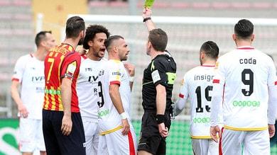 Serie B, Giudice Sportivo: un turno di stop per sette calciatori