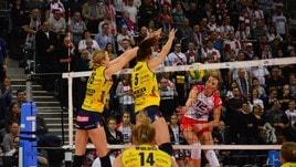 Volley: Challenge Cup Femminile, Conegliano domina la sfida di Lodz