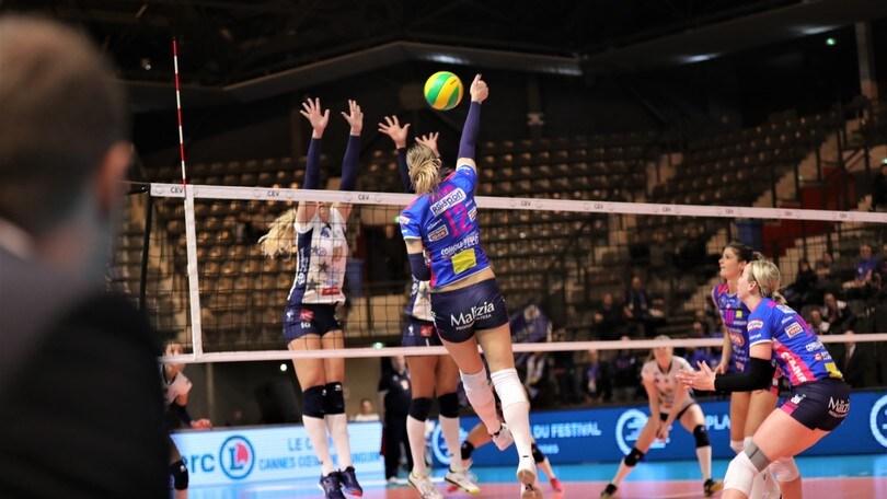 Volley: Champions Femminile, Novara espugna il campo di Cannes