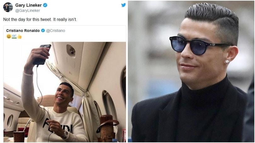 Lineker attacca Ronaldo:«Giorno sbagliato per quel tweet»