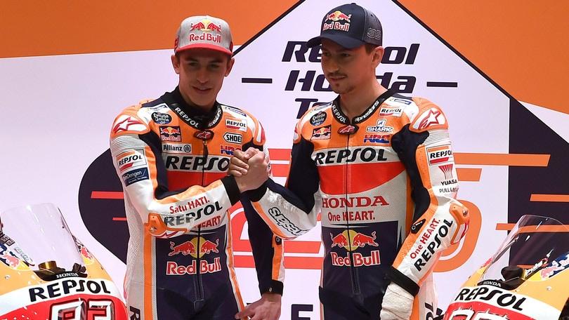 MotoGp Honda, Marquez e Lorenzo in coro: «In Qatar saremo al top»
