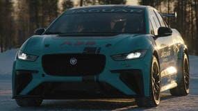 Jaguar eTrophy, sfida sui ghiacci a 200 all'ora per Piquet Jr