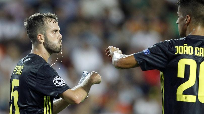 Lazio-Juventus, Allegri perde i pezzi: ko Cancelo, Pjanic e Khedira