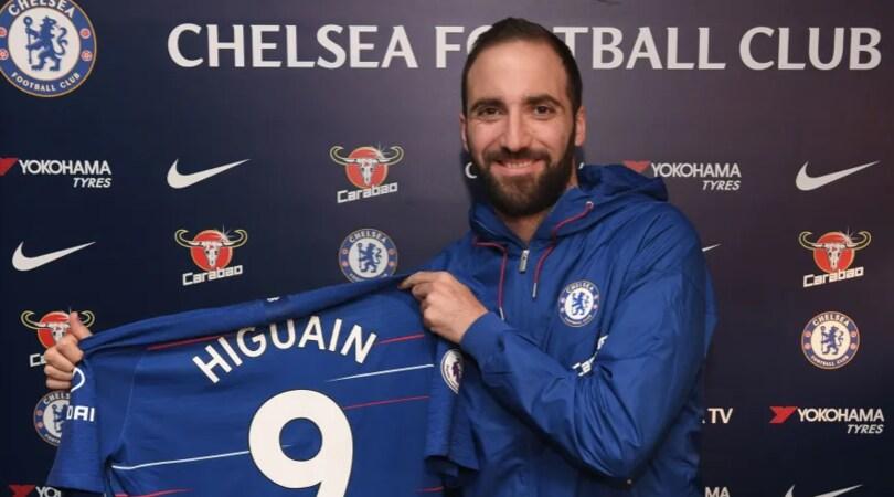 Higuain al Chelsea, ora è ufficiale!