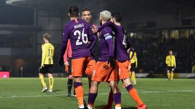 Coppa di Lega, il City vola in finale: Burton ko anche al ritorno