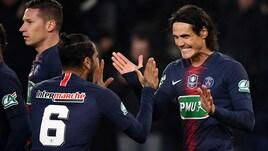 Coppa di Francia, Psg agli ottavi ma in ansia per Neymar