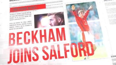 Salford City, anche Beckham con la classe '92