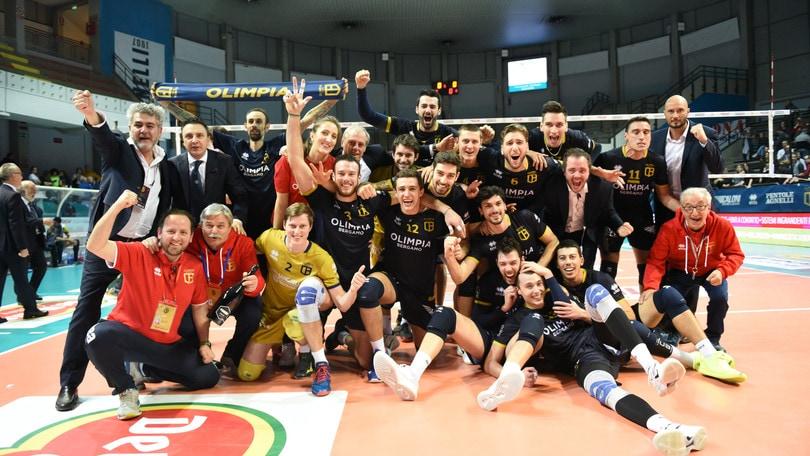 Volley: Coppa Italia A2 Piacenza e Bergamo sono le finaliste