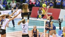 Volley: Challenge Cup Femminile, Scandicci travolgente contro lo Schwerin