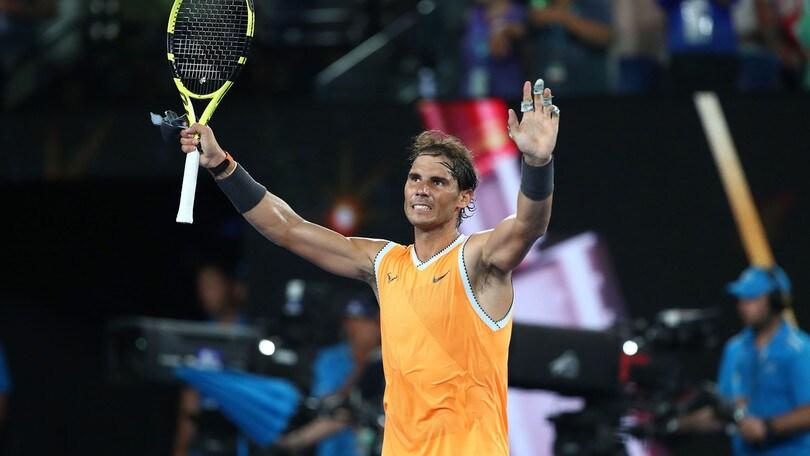 Tennis, Australian Open: Nadal domina Tsitsipas e vola in finale