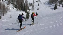 Scialpinismo: notte in quota in Val di Pejo