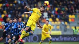 Serie A Frosinone, out Brighenti: solo terapie