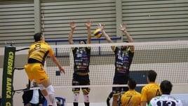 Volley: A2 Maschile, Girone Bianco, nel recupero Livorno demolisce Leverano