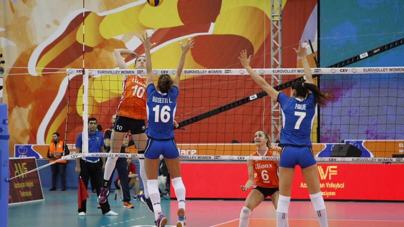 Volley: decise le date dei raduni delle due nazionali azzurre