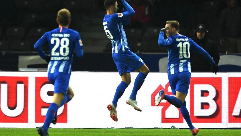 Bundesliga: Hertha, pari e spettacolo con lo Schalke 04