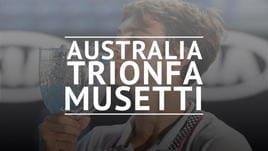 Impresa Musetti, trionfo negli Australian Open Junior