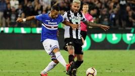 Diretta Sampdoria-Udinese ore 18: formazioni ufficiali e dove vederla in tv