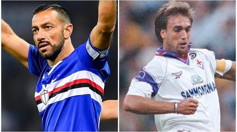 Sampdoria, tutti per Quagliarella (e il record). Defrel favorito come spalla
