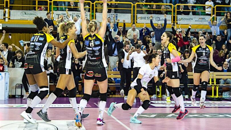 Volley: A1 Femminile, Brescia spazza via Filottrano