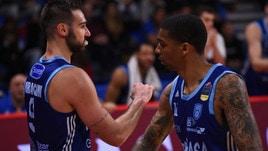 Basket Serie A, l'Happy Casa Brindisi espugna Pesaro e sale al quarto posto