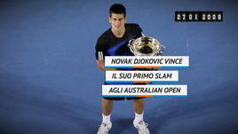 On this day - Djokovic vince il suo primo slam