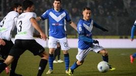 Serie B, spettacolo al Rigamonti: Brescia-Spezia 4-4