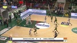 Sidigas Avellino-Vanoli Cremona 62-70